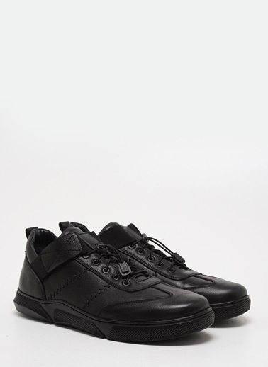 F By Fabrika Erkek Siyah Ayakkabı JUPUR Siyah